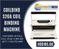 CoilBind S20A Coil Binding Machine