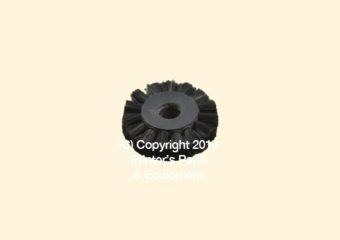 Feeder Brush Wheel 35mm x 8mm pin