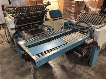 Buy Used MBO T49 4/4 Used Bindery and Finishing Machine