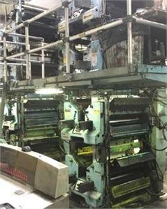 """Goss SSC / DGM 430, 22 3/4"""" Press System - The Siebold Compnay"""