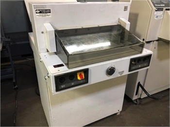 Buy Used 1996 Ideal 5221-95 Cutters/Guillotines Machine