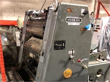 Buy Used 1974 Heidelberg GTO46 Offset Printing Machine