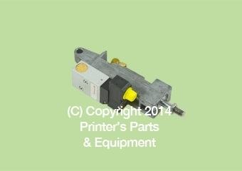 Pneumatic Cylinder Valve D20 H25 for Heidelberg SM74/PM74 (HE-H2-335-001)