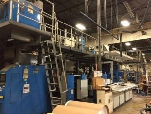 Goss U-70 Two Unit Book Press - The Siebold Company