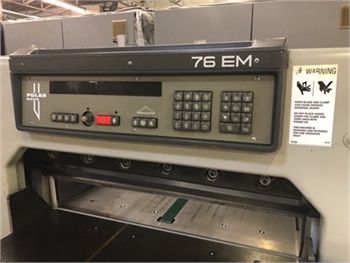 Buy Used 1986 Polar 76EM Cutters/Guillotines Machine
