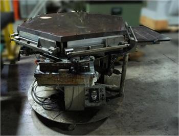 Buy Used BRACKETT CIRCULAR PADDER Bindery and Finishing Machine