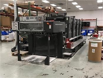 Buy Used 1990 Heidelberg SM102VP Sheet Fed Offset Printing Machine