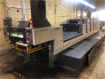 Buy Used 2006 Komori NL-528+LX Offset Printing Machine