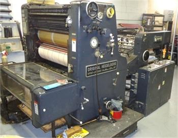 Buy Used 1972 Heidelberg SORD Machine