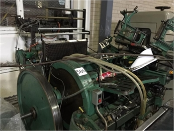 Buy Used Chandler & Price Foil Stamper Bindery and Finishing Machine