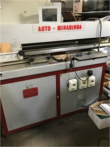 Buy Used SULBY MINABINDA Bindery and Finishing Machine