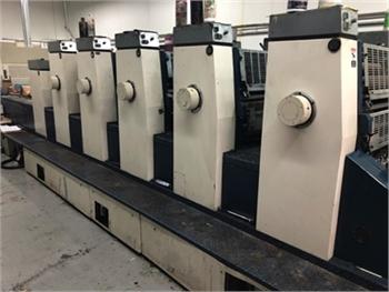 Buy Used 1987 Komori L526+LX Offset Printing Machine