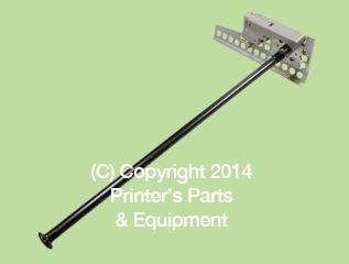 Heidelberg Jogger Rod Assembly / Sheet Stop for SM102 / CD102 D.S.