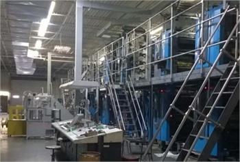 Goss SSC 13-Unit Press & Auxiliary Equipment - The Siebold Compnay