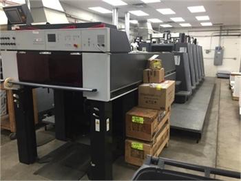 Buy Used 2001 Heidelberg CD74-5+LX Offset Printing Machine