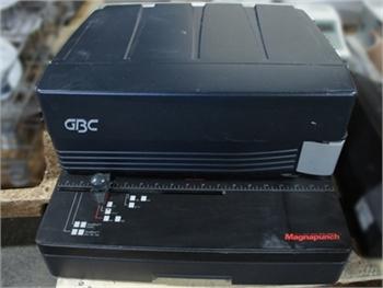 Buy Used GBC Magnapunch Bindery and Finishing Machine