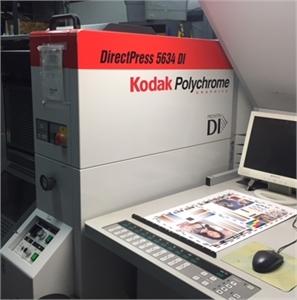 2005 PRESSTEK DI X MODEL/ KPG 5634 20 Point DI PRESS