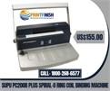 SUPU PC200B Plus Spiral-O Ring Coil Binding Machine