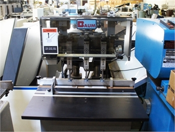 Buy Used Baum ND 5A-S-2 Bindery and Finishing Machine