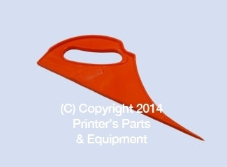 Plastic Pointed Cutter for Muller Martini HE-30593