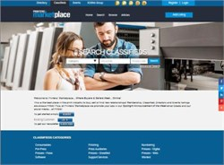 Printers' Marketplace Announces New Look Website